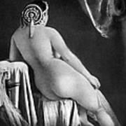 Nude Posing: Rear View Art Print