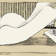 Nude With Broken Wrist Art Print