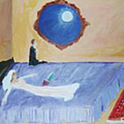 Nuit De Noces Art Print by Mounir Mounir