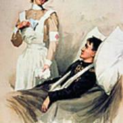 Nurse: Calendar, 1899 Art Print