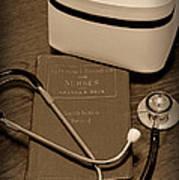 Nurse - The Care Giver Art Print