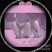 Nursery And Childrens Series Penguins Art Print