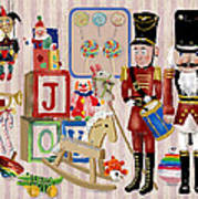 Nutcracker And Friends Art Print