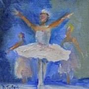 Nutcracker Ballet Art Print by Donna Tuten