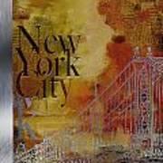 Ny City Collage - 6 Art Print