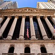 Ny Stock Exchange Art Print