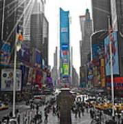 Ny Times Square Art Print