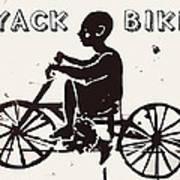 Nyack Bike Art Print