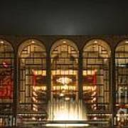 Nyc Opera House Art Print