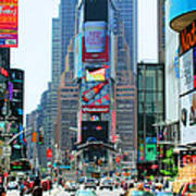 New York City Times Square Art Print