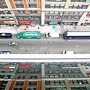 Nyc Urban Reflection Art Print