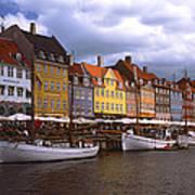 Nyhavn Copenhagen Art Print