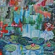 Nymph's Lily Pond- SOLD Art Print