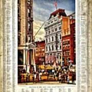 Nyse 1882 Art Print