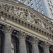 Nyse  New York Stock Exchange Wall Street Art Print