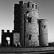 Briens Tower At The Cliffs Of Moher Art Print
