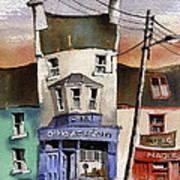 O Heagrain Pub Viewed 115737 Times Art Print