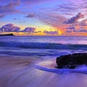 Oahu Sunrise Art Print