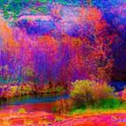 Oak Creek Acid 2 Art Print