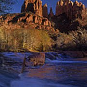 Oak Creek Crossing Sedona Arizona Art Print