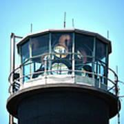 Oak Island Lighthouse Beacon Lights Art Print
