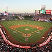 Oakland Athletics V Los Angeles Angels Art Print