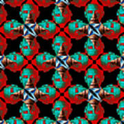 Obama Abstract 20130202p0 Art Print
