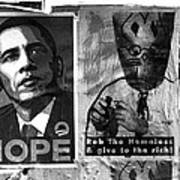 Obama Election Poster Art Print