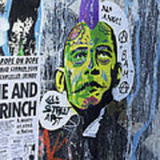 Obama The Grinch Art Print