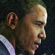 Obama1 Art Print