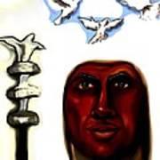 Obatala -king Of White Cloth Art Print