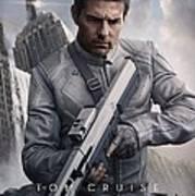 Oblivion Tom Cruise Art Print