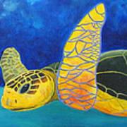 Obx Turtle Art Print