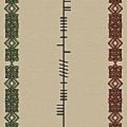 O'carroll Written In Ogham Art Print