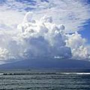 Ocean And Clouds Art Print