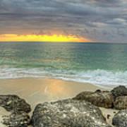 Ocean At Dawn Art Print