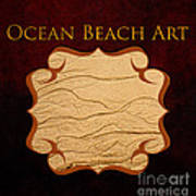 Ocean Beach Art Gallery Art Print