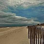 Ocean Beach Dunes Art Print