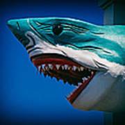 Ocean City Shark Attack Art Print