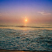 Ocean City Sunrise Art Print