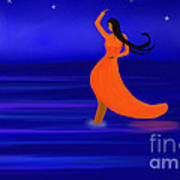Ocean Dancer Art Print