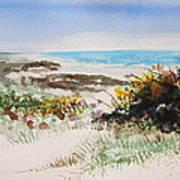 Ocean Front Art Print