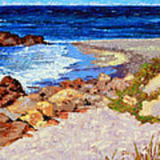 Ocean Patterns Art Print
