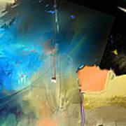 Ocean Sapphire 2 Art Print