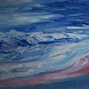 Ocean Shoreline Art Print