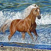 Ocean Stallion Art Print