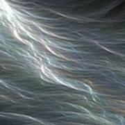 Ocean Swell Fractal Art Print