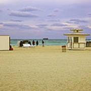 Ocean View 3 - Miami Beach - Florida Art Print