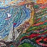 Ocean View Art Print by Matthew  James