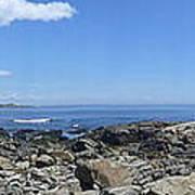 Ocean View Panoramic Art Print